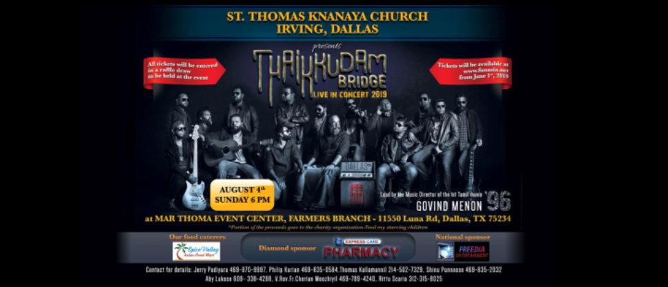 thaikkudam bridge live concert